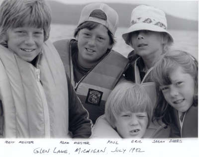 Glen Lake Gang - July 1982
