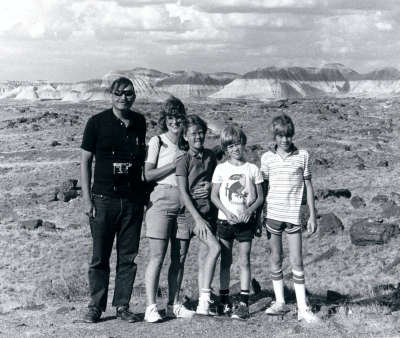 Painted Desert - July 1983