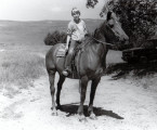 Eric, Age 12, Paul Pound Ranch, Thedford, Nebraska