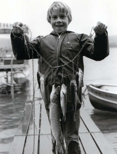 Nice catch - Glen Lake 1980